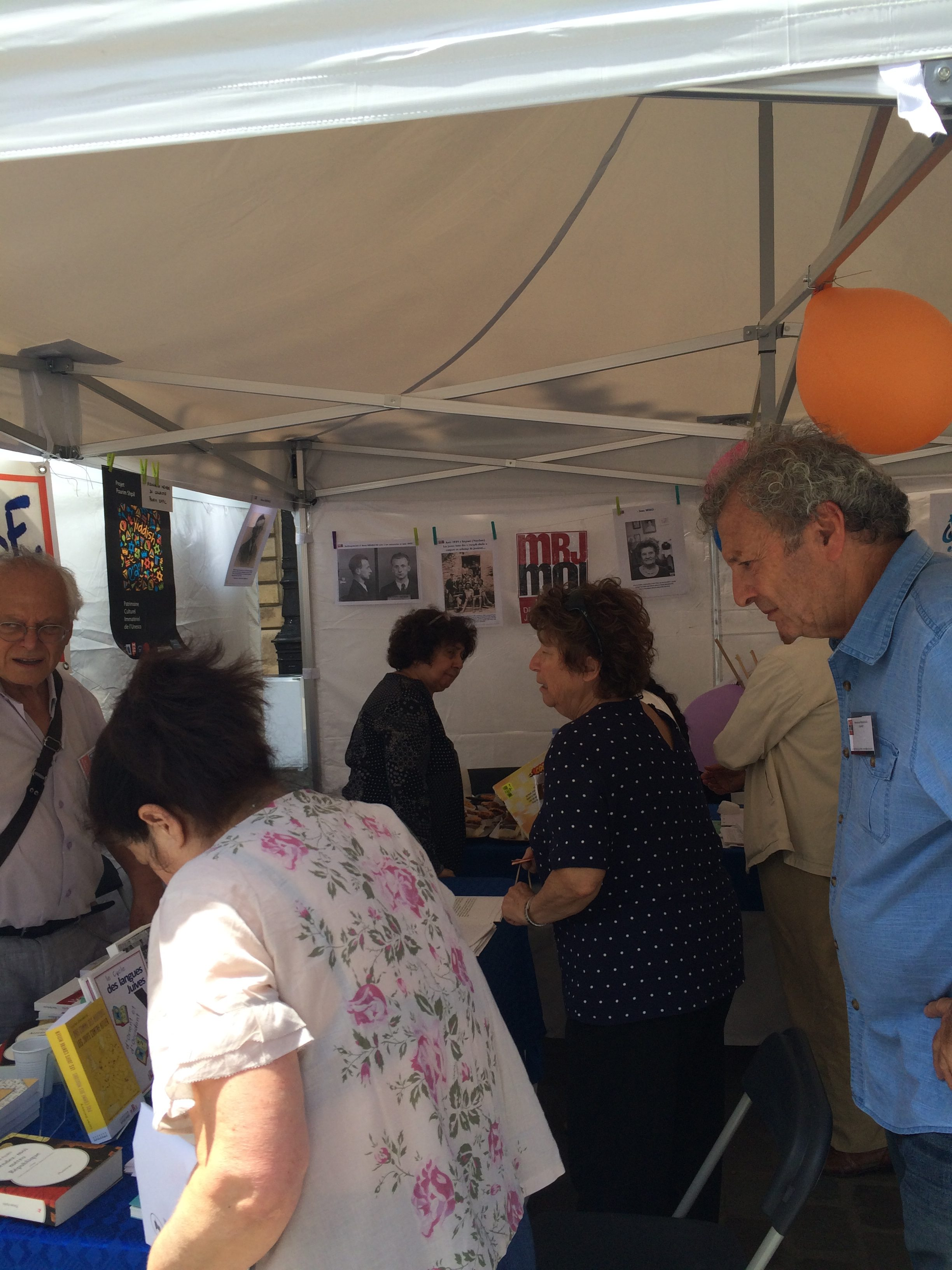 Fête des Associations2017-Stand MRJ