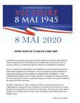 8Mai 1945- 8 Mai 2020